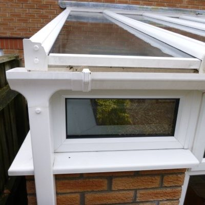 An image of a freshly cleaned conservatory
